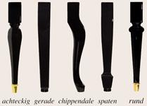 Konzertbänke Beine